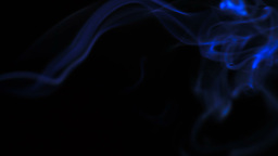 Blue smoke Stock Video Footage