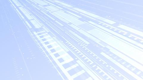 Digital network Belt Bw HD Stock Video Footage