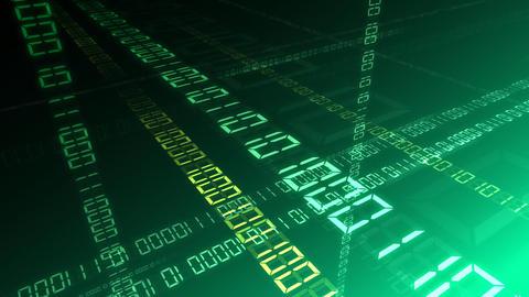 Digital network Data Bg HD Animation
