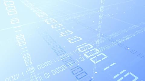 Digital network Data Bw HD Animation