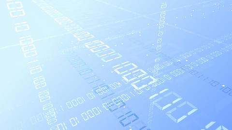 Digital network Data Bw HD Stock Video Footage
