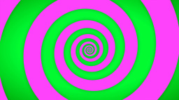 Green-Pink Swirl Animation