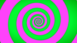Green-Pink Swirl Stock Video Footage