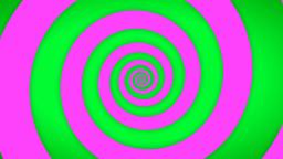 Green-Pink Swirl Stock Video Footage