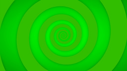 Green Swirl Animation