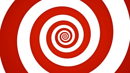 Red And White Swirl Animation
