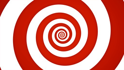 Red And White Swirl Stock Video Footage
