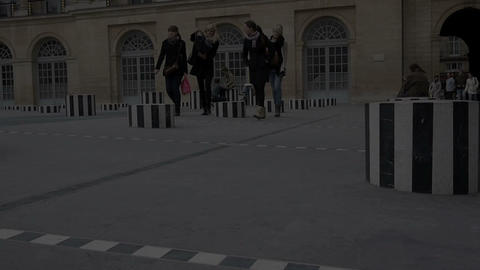 Palais Royal Stock Video Footage