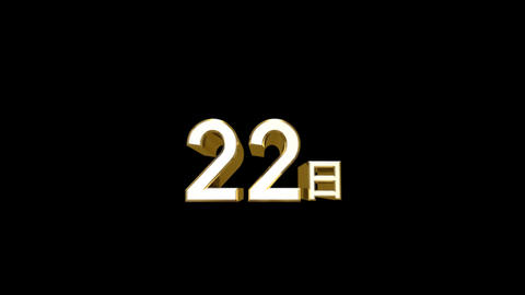 Day j 22 a HD Stock Video Footage