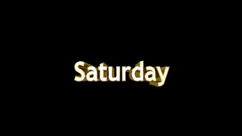 Day 07 Saturday HD, CG動画素材
