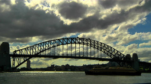 Sydney Harbour Bridge 03 Footage