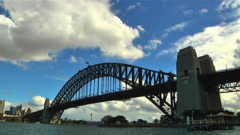 Sydney Harbour Bridge 05 Stock Video Footage