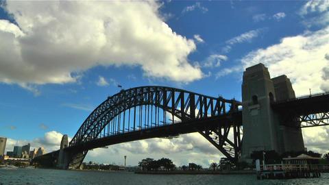 Sydney Harbour Bridge 05 Stock Video Footage