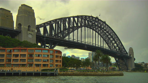 Sydney Harbour Bridge 07 Footage