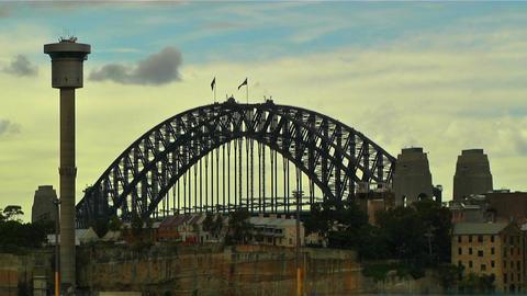 Sydney Harbour Bridge 09 Stock Video Footage