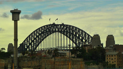 Sydney Harbour Bridge 09 Footage