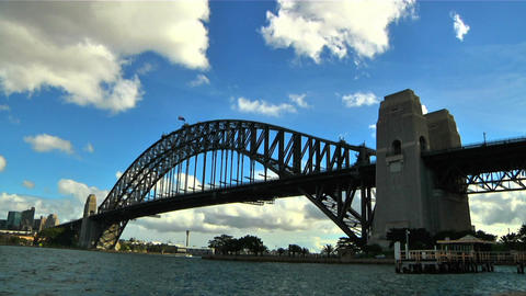 Sydney Harbour Bridge Timelapse Footage