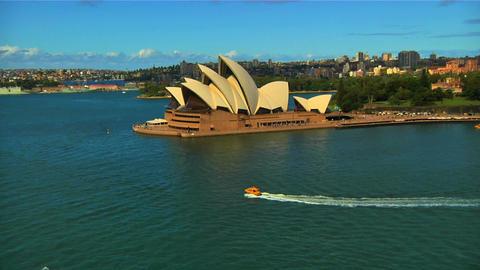 Sydney Opera House 03 Stock Video Footage