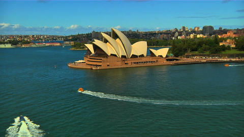Sydney Opera House 03 Stock Video Footage