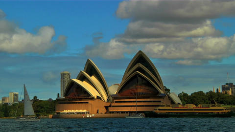 Sydney Opera House 05 Stock Video Footage