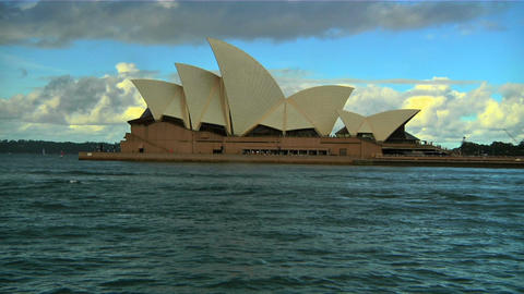 Sydney Opera House 07 Stock Video Footage