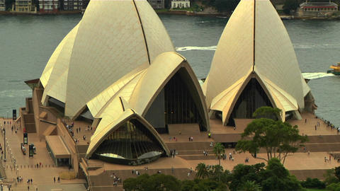 Sydney Opera House 09 Stock Video Footage