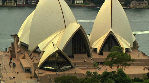 Sydney Opera House 09 Footage