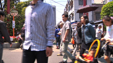 Tokyo Street 02 Stock Video Footage