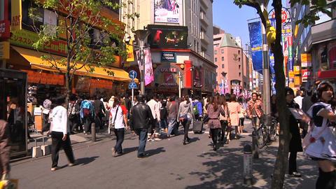 Tokyo Street 04 Stock Video Footage