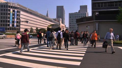 Tokyo Street 10 Footage