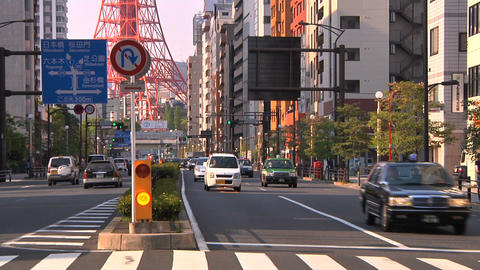 Tokyo Street 22 Stock Video Footage