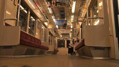 Tokyo Subway 02 Footage