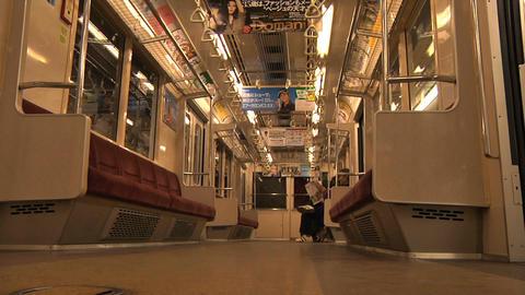 Tokyo Subway 02 Stock Video Footage