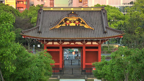 Traditional Japanese Building Stock Video Footage
