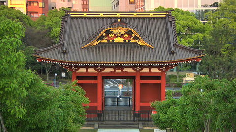 Traditional Japanese Building Footage