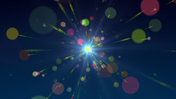 Multicolored Particles Stock Video Footage