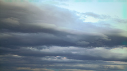 Cloudy Sky Timelapse Stock Video Footage