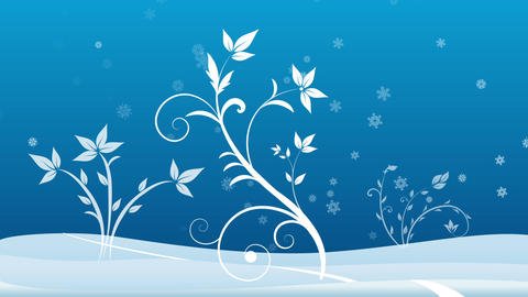 Winter background Stock Video Footage