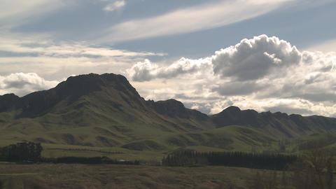 peak clouds timelapse Stock Video Footage