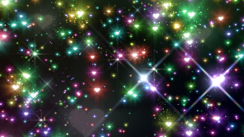 Color Sparkle AhFc HD Stock Video Footage