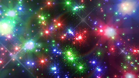 Color Sparkle AkFc HD Stock Video Footage
