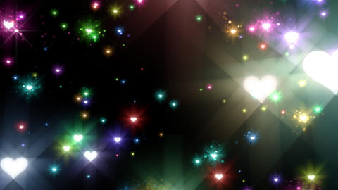 Color Sparkle BhBc HD Stock Video Footage