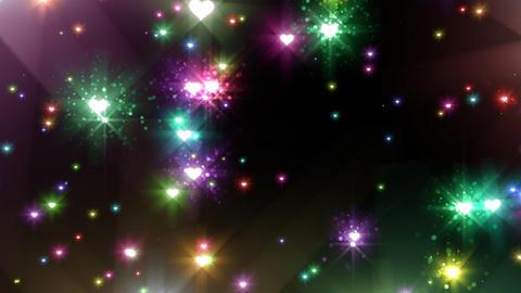 Color Sparkle BhBc HD Stock Video Footage