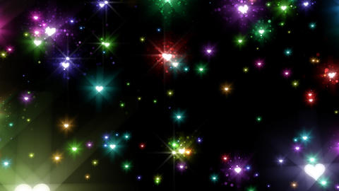 Color Sparkle BhBc HD Animation