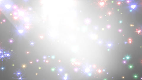 Color Sparkle BhCc HD Stock Video Footage