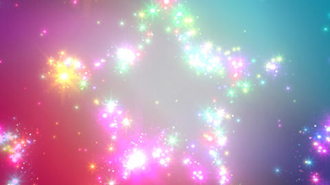 Color Sparkle CsCc HD Animation