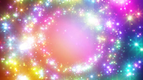 Color Sparkle DcCc HD Stock Video Footage