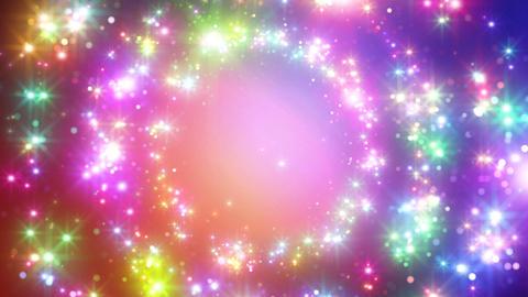 Color Sparkle DcCc HD Animation