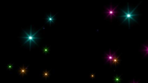 Color Sparkle S Ak M HD Stock Video Footage