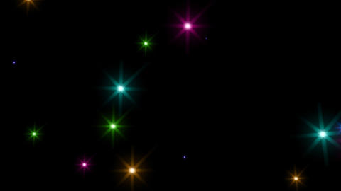 Color Sparkle S Bk M HD Stock Video Footage